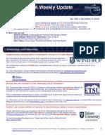 EdUSA Weekly Update No 208-- 6 December 2010
