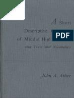 Asher, John A. (1981) - A Short Descriptive Grammar of Middle High German.pdf