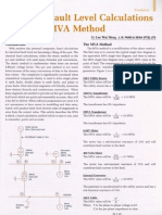 Electrical Fault Level Calculation Using MVA Method