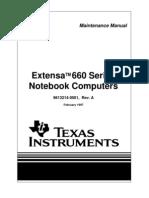 Acer EXT660SG