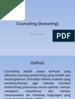 Counseling (Konseling)