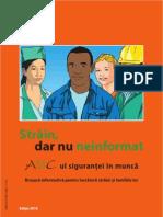 Strain, Dar Nu Neinformat ABC-Ul Sigurantei in Munca