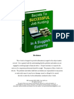 Secrets to Successful Job Hunting