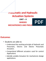 Pneumatic and Hydraulic Actuation Systems-UNITII