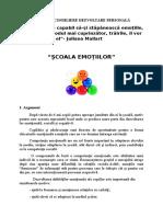 PROGRAM CONSILIERE-DEZVOLTARE EMOTIONALA