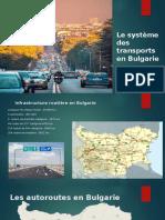 Le système des transports en Bulgarie.pptx