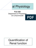 FLG 332 Renal Physiology-2 (2019)