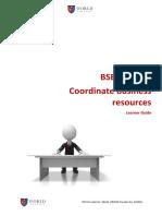 BSBADM409 Learner Guide V1.2