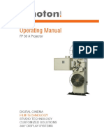 Kinoton FP30A Operating Manual