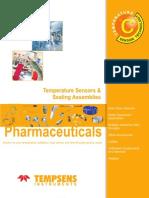 Temperature Sensors & Sealing Assemblies for pharmaceutical industries