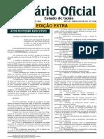 Diário Oficial de Goiás - Novo Decreto