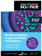 Twenty First Century Science Spring 2011 course guide