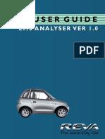 User Guide EMS Analyser Ver1.0