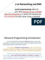 Introduction to Networking and RMI