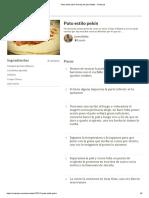 Pato estilo pekín Receta de josevillalta - Cookpad