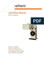 Kinoton FP20A Operating Manual