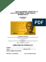 Matematicas 3 Profra America Ruiz Tercero d,e,f
