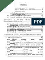 2978 Presiunea Fiscala in Economia de Piata Si Efectul Acesteia Asupra Agentilor Economici