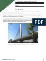 Ponte Otávio Frias de Oliveira – LAAMARALL NETLELAND _ São Paulo, Brasil