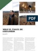 Colección 75 Aniversario Miguel Ángel de Gregorio