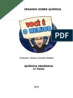APOSTILA DE QUíMICA ORGÂNICA_1ª_PARTE_2019_V01
