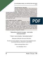 SITUACIÓN ACTUAL DE LA PAPA - MERCADOS INTERNACIONAL