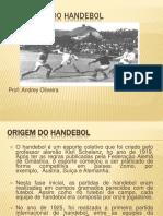 História do handebol 2020
