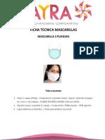 Especificación técnica Mascarillas Reutilizables P.T (1)