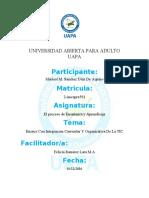 Ensayo De Integracion corricular y Organizativa de la TIC