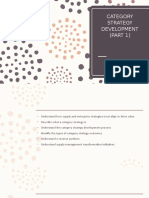 Chapter 6 Category Strategy Development (Part 1)