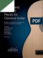 Guitar-Favorites-wTABs-ClassicalGuitarShed