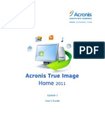 Acronis True Image 2011 user guide
