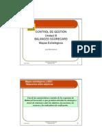 5 Balanced Scorecard  (mapas estratégicos)
