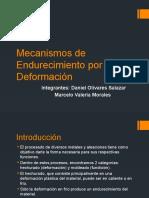 Mecanismos de Endurecimiento por Deformación (1)