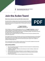 Acden holdings