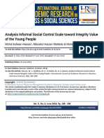 Analysis_Informal_Social_Control_Scale_toward_Integrity_Value_of_the_Young_People1