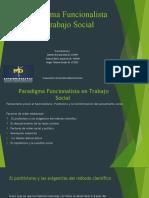 Paradigma Funcionalista en Trabajo Social