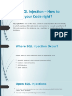 ABAP SQL Injection
