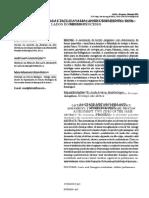 Articulo Metabolismo del Lactato.