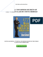 177-mental-toughness-secrets-of-the-world-class-by-steve-siebold