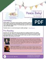 Peace Baby Teacher Guide