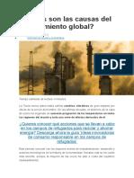 Cuáles son las causas del calentamiento global.docx