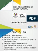 Presentacion Gobierno En Linea_SGC-2012