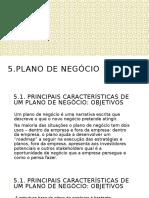5. Plano de negóco