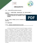 Circular 8 JORNADA DE JURAMENTACIÓN CEAP