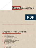 Chapter 3 Software Process Model(1)