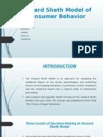 Howard Sheth Model of Consumer Behavior.pptx