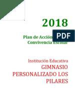 PLAN DE ACCION DEL COMITE DE CONVIVENCIA ESCOLAR