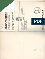 Libro de mecanografia. Ejercicios
