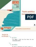 1 Texto Poético (Características)